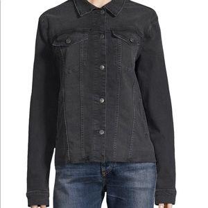 Joe's Jeans Black Denim Jacket for Spring